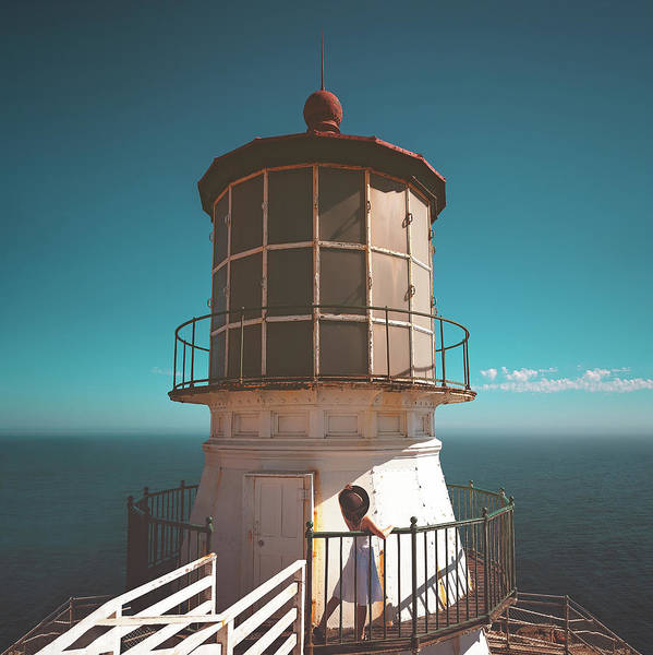 Photograph - The Lighthouse by Marji Lang