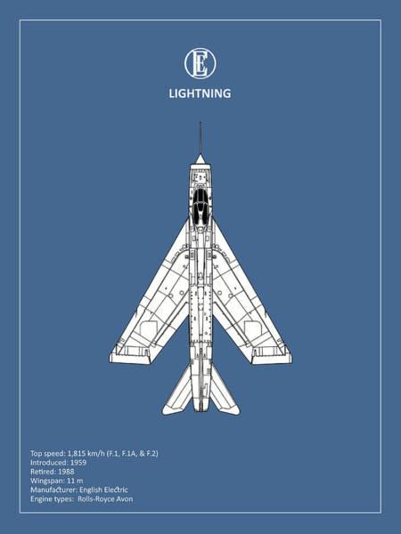 Jet Fighter Photograph - The Lightning by Mark Rogan