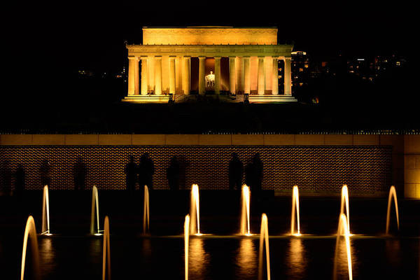 Photograph - The Lincoln Memorial - National Mall - Washington Dc by Photography  By Sai