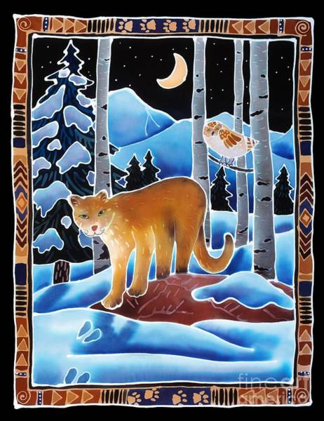 Snow Owl Painting - The Lion And The Owl by Harriet Peck Taylor