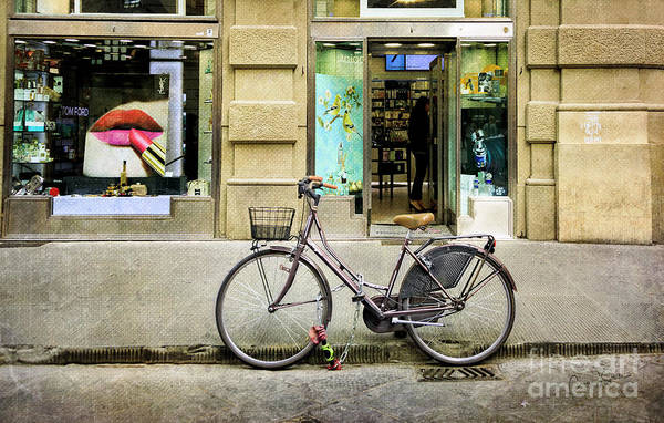 Photograph - The Lipstick Bicycle by Craig J Satterlee
