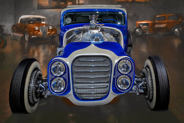 Photograph - The Little Deuce Coupe #2 by Susan Rissi Tregoning