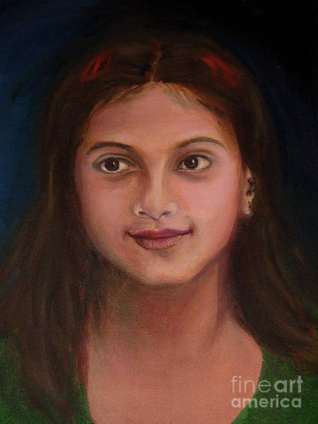 Painting - The Little Neighbour by Asha Sudhaker Shenoy