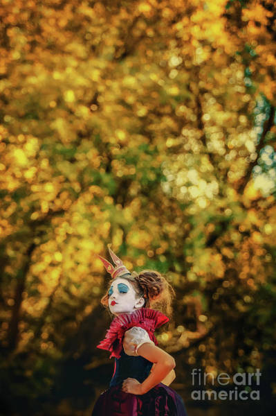 Photograph - The Little Queen Of Hearts Alice In Wonderland by Dimitar Hristov