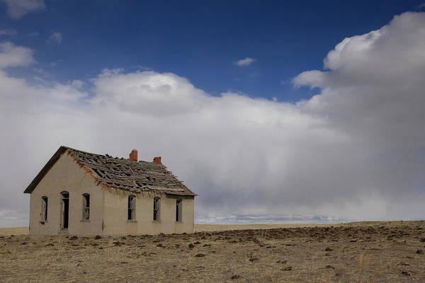 Wall Art - Photograph - The Little Schoolhouse On The Prairie by Bridget Calip