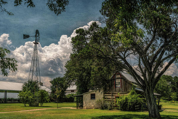 Photograph - The Little Winery In Stonewall by Gaylon Yancy