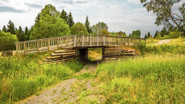 Photograph - The Little Wooden Bridge by Emiliano Giardini