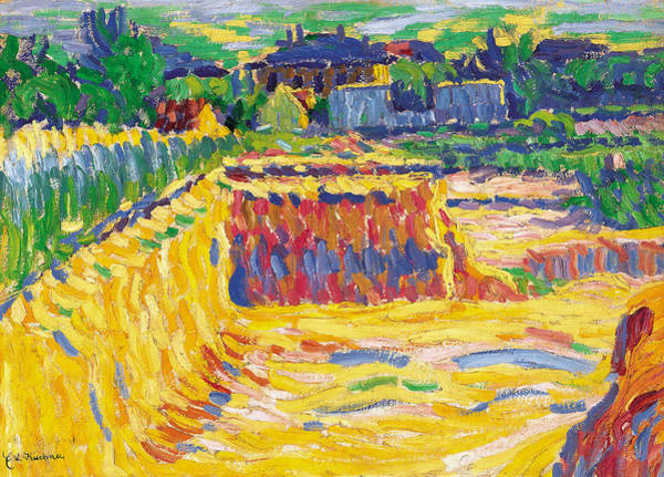 Painting - The Loam Pit by Ernst Ludwig Kirchner