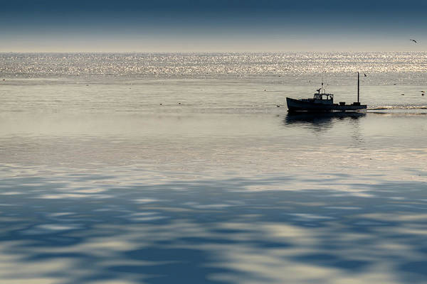 Lobster Photograph - The Lobster Boat by Rick Berk