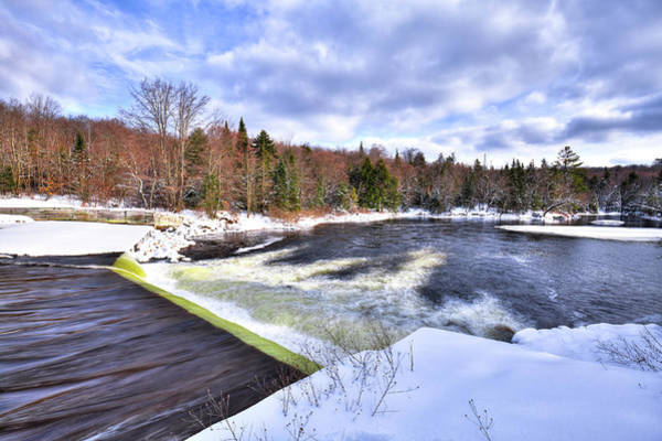 Photograph - The Lock And Dam by David Patterson