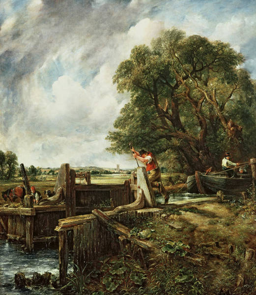 1776 Painting - The Lock by John Constable