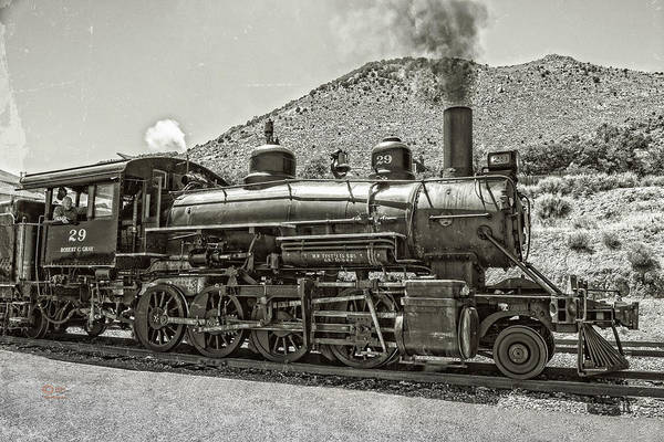 Photograph - The Locomotive by Jim Thompson