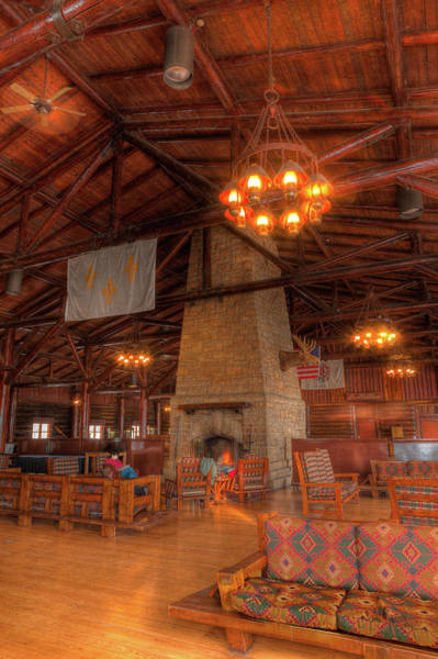 Starving Photograph - The Lodge At Starved Rock State Park Illinois by Steve Gadomski
