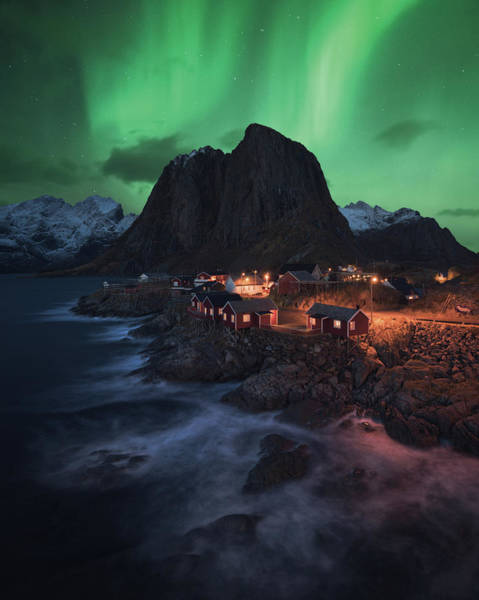Dream Photograph - The Lofoten Dream by Tor-Ivar Naess
