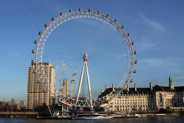 Photograph - The London Eye by Aidan Moran