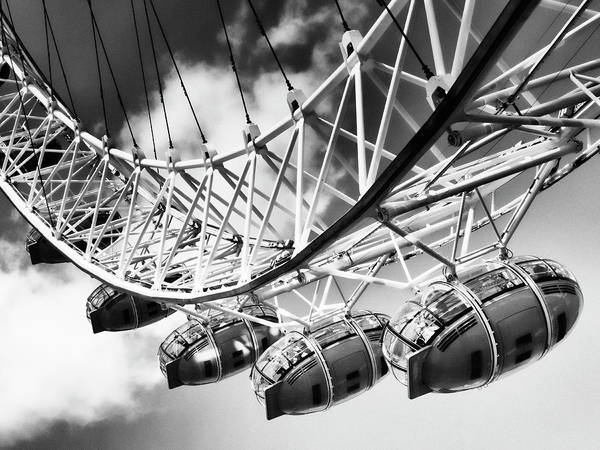 Wall Art - Photograph - The London Eye by Dominic Piperata