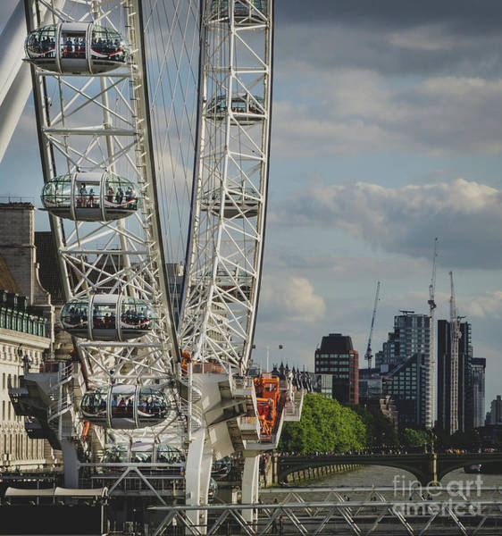 Photograph - The London Eye by Perry Rodriguez