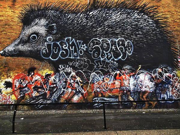 Wall Art - Photograph - The London Porcupine  by Funkpix Photo Hunter
