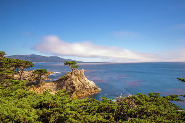 Wall Art - Photograph - The Lone Cypress Pebble Beach by Scott McGuire