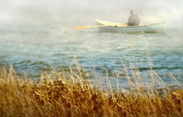 Wall Art - Photograph - The Lone Rower by Diana Angstadt