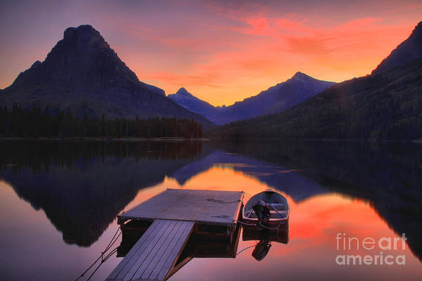 Photograph - The Lonely Boat by Adam Jewell
