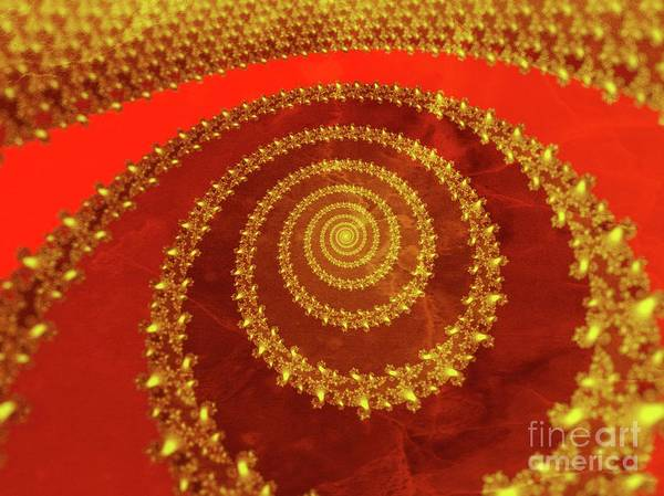 Fibonacci Spiral Digital Art - The Long And Winding Road by Raphael Terra