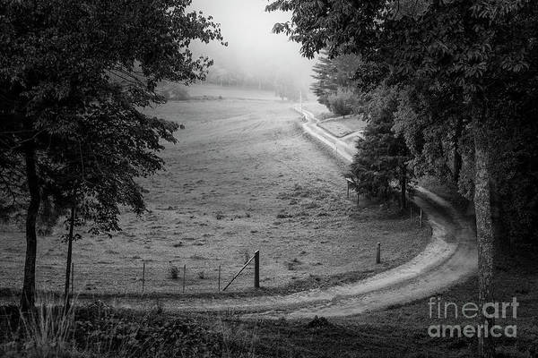 Photograph - The Long And Winding Road by Tim Wemple