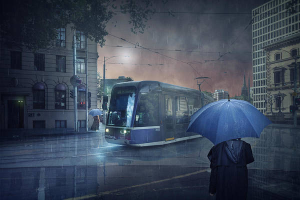 Tram Wall Art - Photograph - The Long Goodbye 5 by Adrian Donoghue