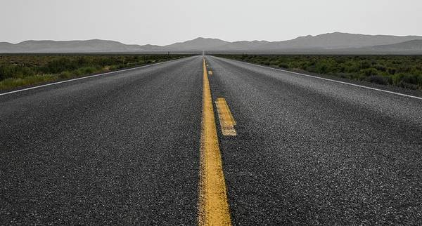Photograph - The Long Road by Rand