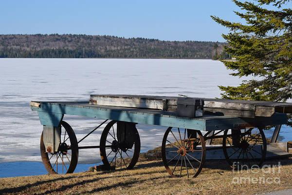 Madawaska Lake Photograph - The Long Wait by William Tasker