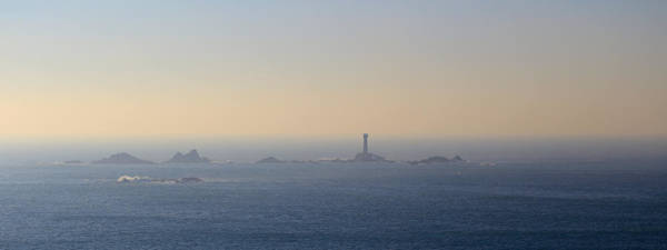 Photograph - The Longships Lighthouse Cornwall by Tony Mills