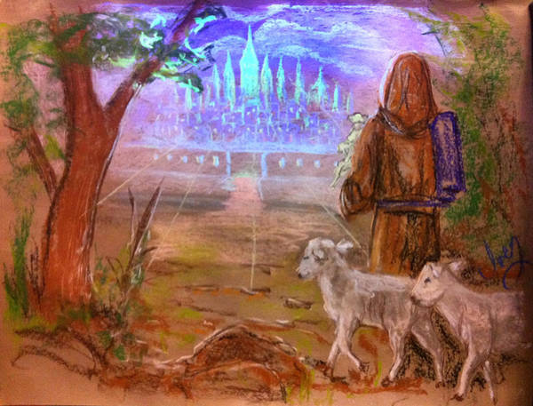 Painting - The Lord Is My Shepherd by Mike Ivey