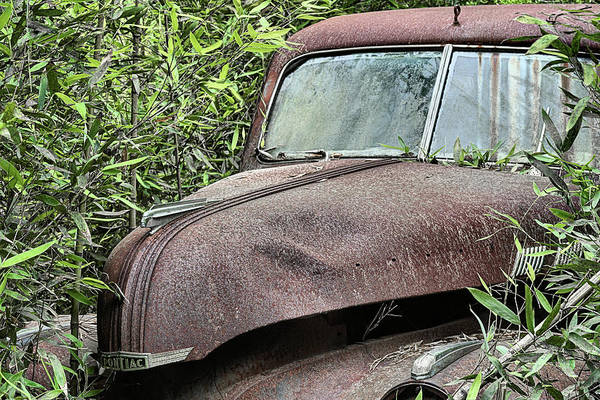 Photograph - The Lost And Found Pontiac by JC Findley