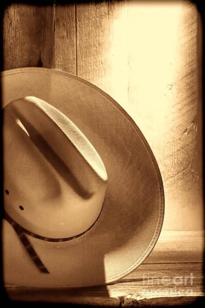 Photograph - The Lost Hat by American West Legend By Olivier Le Queinec