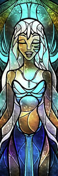 Digital Art - The Lost Princess by Mandie Manzano