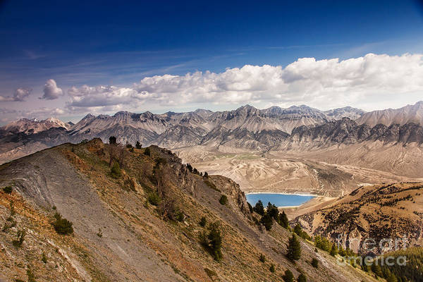 Atv Photograph - The Lost River Mountain Range by Robert Bales