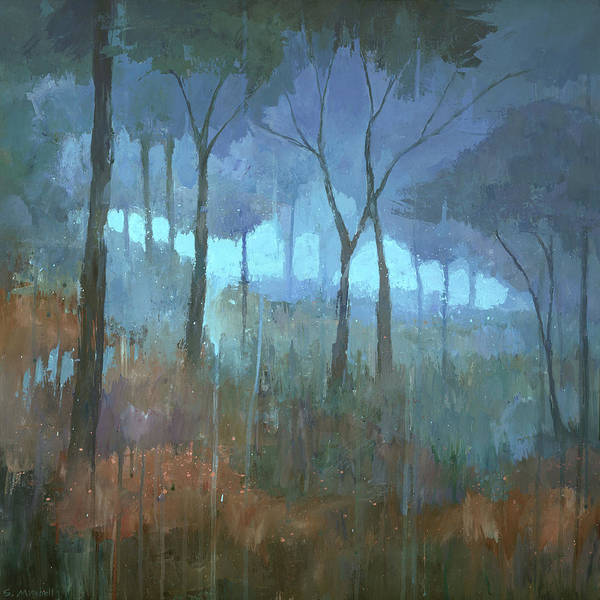 Rain Forest Painting - The Lost Trail by Steve Mitchell