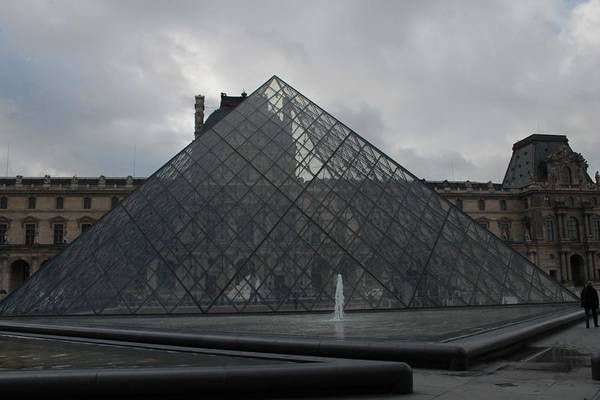Photograph - The Louvre And I.m. Pei by Christopher Kirby