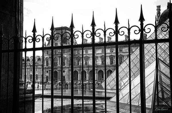 Photograph - The Louvre by Diana Haronis