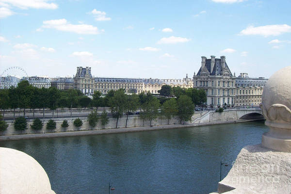 Photograph - The Louvre by Mary Mikawoz