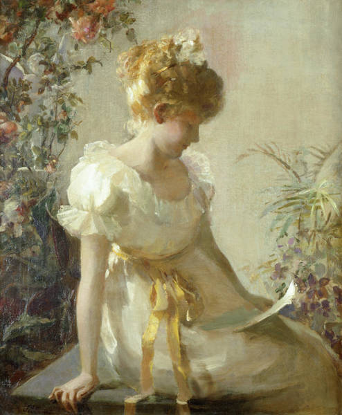 Crush Painting - The Love Letter by Jessie Elliot Gorst
