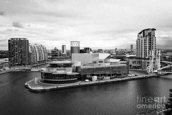 Lowry Photograph - the lowry and salford quays Manchester uk by Joe Fox