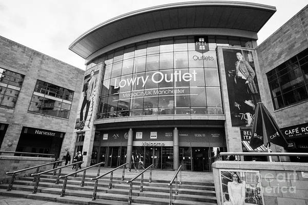 Lowry Photograph - The Lowry Outlet Shopping Mall Manchester Uk by Joe Fox