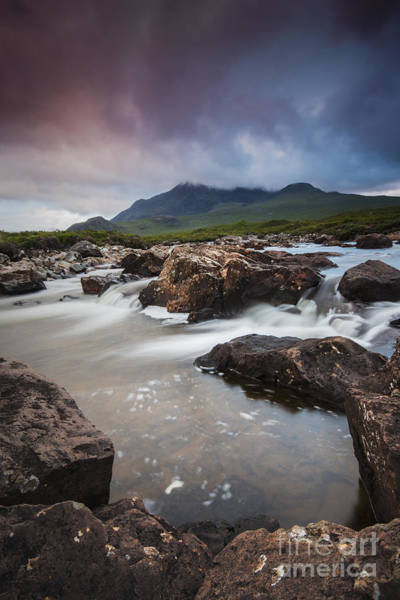 Photograph - The Lure Of The Cuillin by David Lichtneker