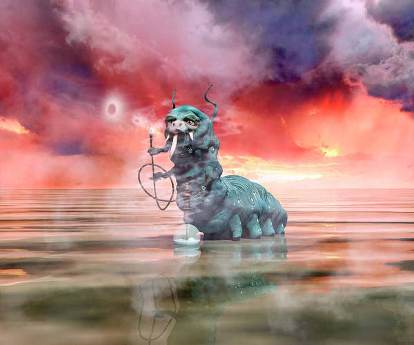 Stormy Digital Art - The Madness Of It All by Betsy Knapp