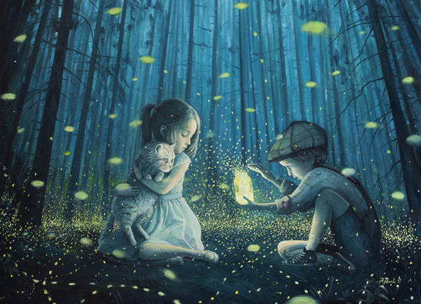Lost Painting - The Magic Lantern by Adrian Borda