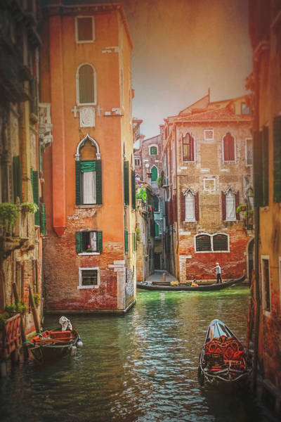 Italia Photograph - The Magic Of Venice Italy  by Carol Japp