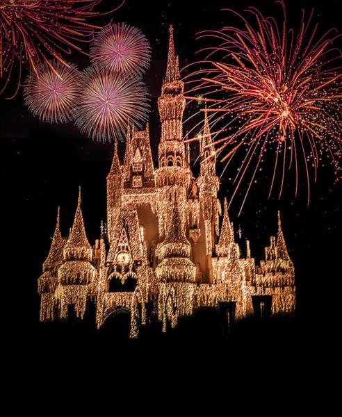 Magic Kingdom Photograph - The Magical Kingdom by Art Spectrum