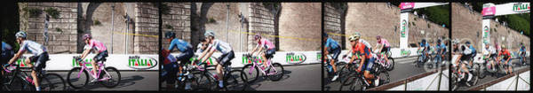 Bahrain Photograph - The Maglia Rosa Froome Grabs Giro D'italia In Rome by Stefano Senise