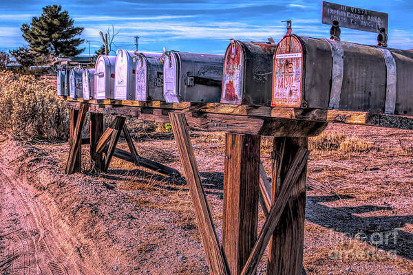 The Mailboxes Art Print